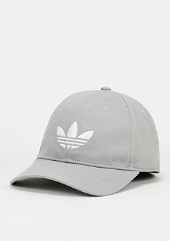 Baseball-Cap Trefoil solid grey