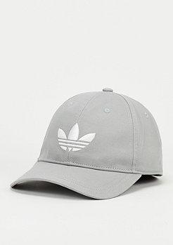 Baseball-Cap Trefoil solid grey