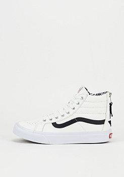 Skateschuh Sk8-Hi Slim Zip Leather true white/leo