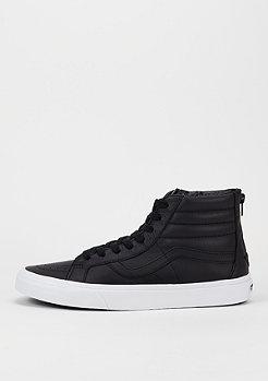 Schoen Sk8-Hi Reissue Zip Premium Leather black/true white