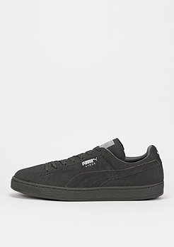 Suede Mono Reflective dark shadow/silver