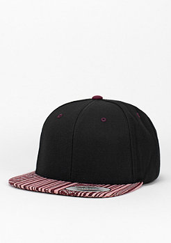 Snapback-Cap Aztec black/red