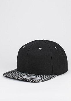 Snapback-Cap Aztec black/white