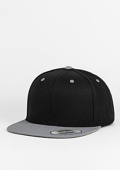 Snapback-Cap Classic 2-Tone black/silver