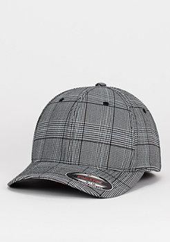 Baseball-Cap Glen Check black/white