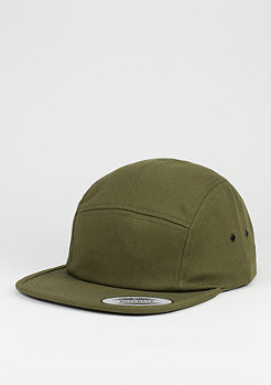 5-Panel-Caps Classic Jockey olive