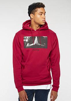 Hooded-Sweatshirt Pray ruby