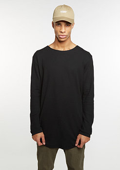 Longsleeve Long Shaped Waffle black