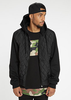 Hooded Diamond Quilt Nylon black/black