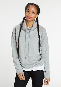 Sweatshirt Quilt High Neck grey