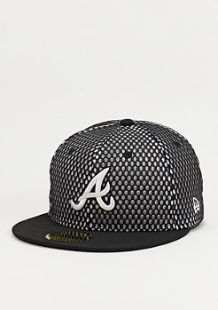 Base Mesh MLB Atlanta Braves black/optic white