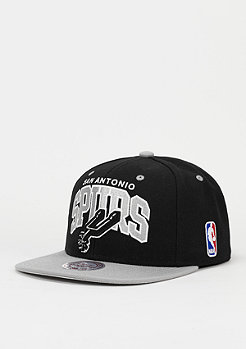 Snapback-Cap Team Arch NBA San Antonio Spurs black
