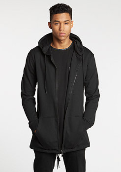 Jacke Sweat Parka black