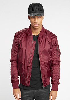 Basic Bomber burgundy