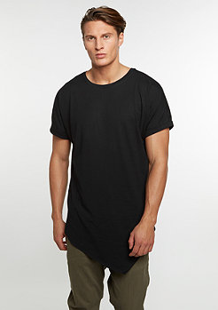 T-Shirt Asymetric Long black