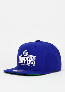 Wool Solid NBA Los Angeles Clippers royal