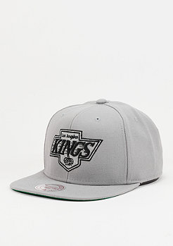 Snapback-Cap Wool Solid NHL Los Angeles Kings grey