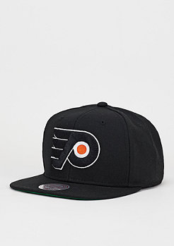 Snapback-Cap Wool Solid NHL Philadelphia Flyers black