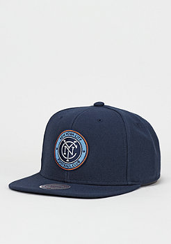 Wool Solid MLS New York City FC navy