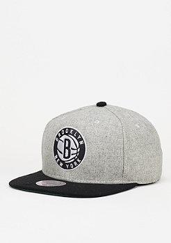 Melange Flannel NBA Brooklyn Nets black