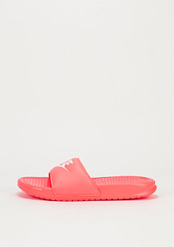 Badeschlappe Wmns Benassi Just Do It bright mango/white/bright mango