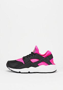 Air Huarache Run pink blast/black