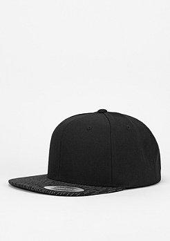 Snapback-Cap Fallen Lines black/black/grey