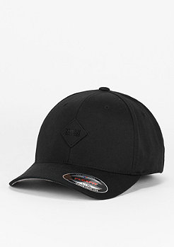 Urban Classics Baseball-Cap Leatherpatch black/black