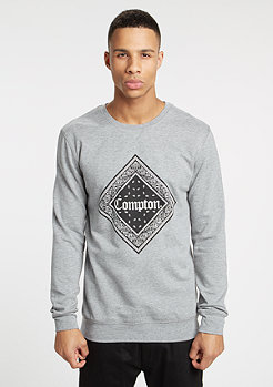 Sweatshirt Compton Bandana heather grey