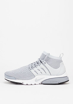 NIKE Air Presto Ultra Flyknit wolf grey/pure platinum/white/black