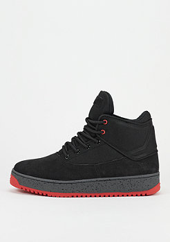 Schuh Shutdown black/dark grey/red