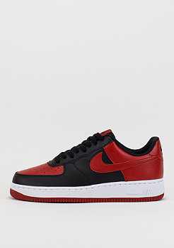 Air Force 1 black/gym red/white