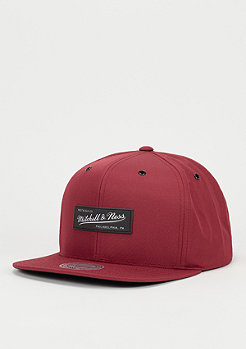 Snapback-Cap Board burgundy