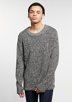 Strickpullover Grab dusty white/black