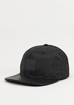 Snapback-Cap Black Label black
