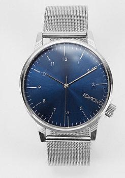 Uhr Winston Royale silver/blue