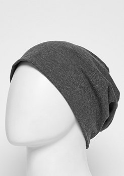Jersey Beanie heather charcoal