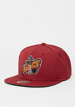 Snapback-Cap Wool Solid HWC Seattle Supersonics red
