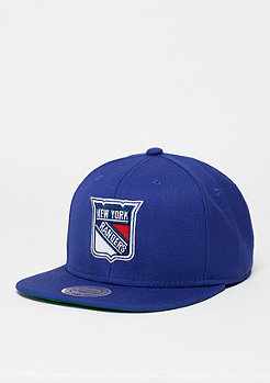 Wool Solid NHL New York Rangers navy