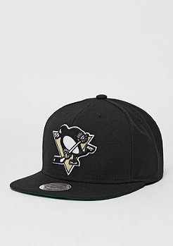 Mitchell & Ness Snapback-Cap Wool Solid NHL Pittsburgh Penguins black
