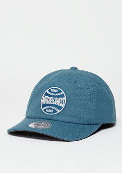 Snapback-Cap Linen Slouch blue