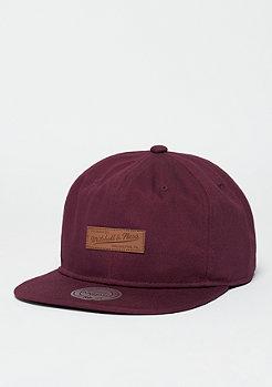 Snapback-Cap Ballpark burgundy