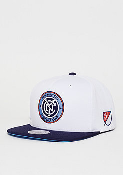 Snapback-Cap D Memory MLS New York City FC white