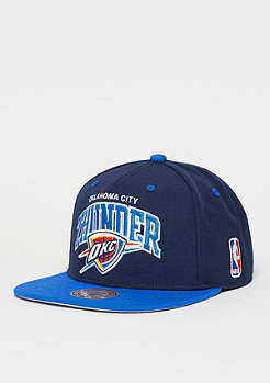 Mitchell & Ness Snapback-Cap Team Arch NBA Oklahoma City Thunder royal