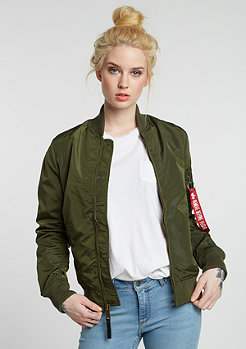 Jas MA-1 TT dark green