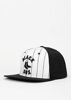 Snapback-Cap Pinstripe black