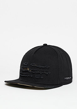 Snapback-Cap BL Ripped black/woodland