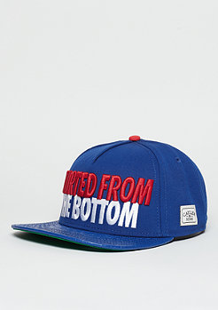 Snapback-Cap WL Cap The Six royal blue/red/white