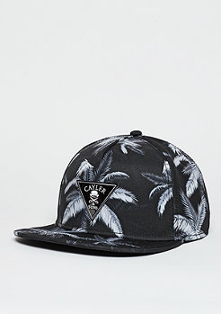 C&S GLD Cap Palms black/grey