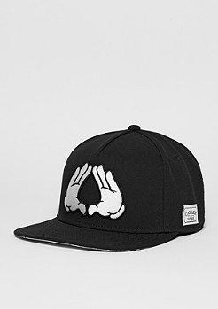 C&S WL Cap Brooklyn Classic black/white